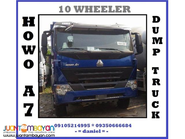 Sinotruk Howo-A7 10 Wheeler Dump Truck