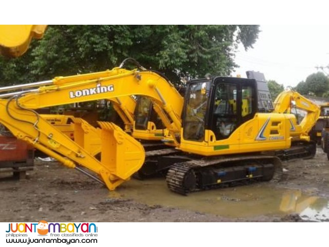 JINGGONG AND LONKING EXCAVATORS
