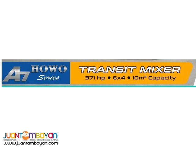 TRANSIT MIXER Homan h3 6-WH 4cbm 4x2 Transit Mixer