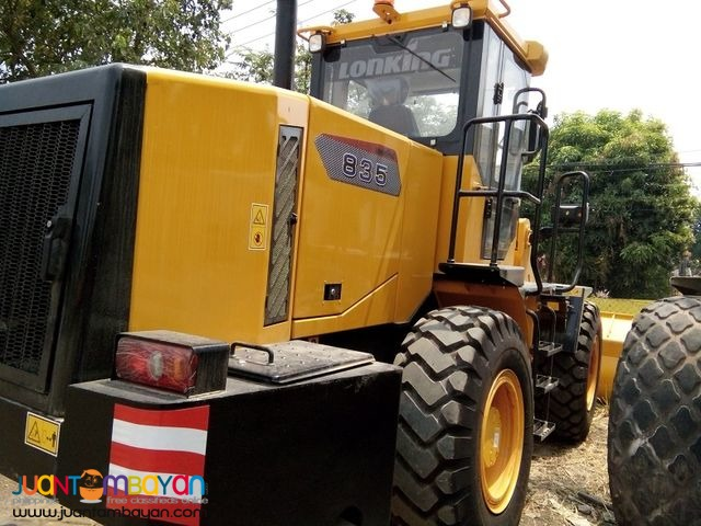 CDM835 Lonking Wheel Loader 1.8cbm Bucket Size