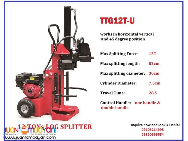 12 ton log splitter