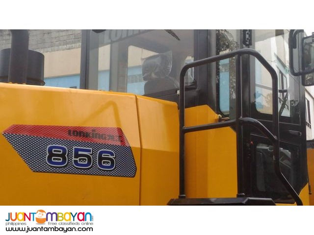 CDM856 Lonking Wheel Loader 3cbm Bucket Size