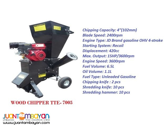 TTE-7005 Wood Chipper