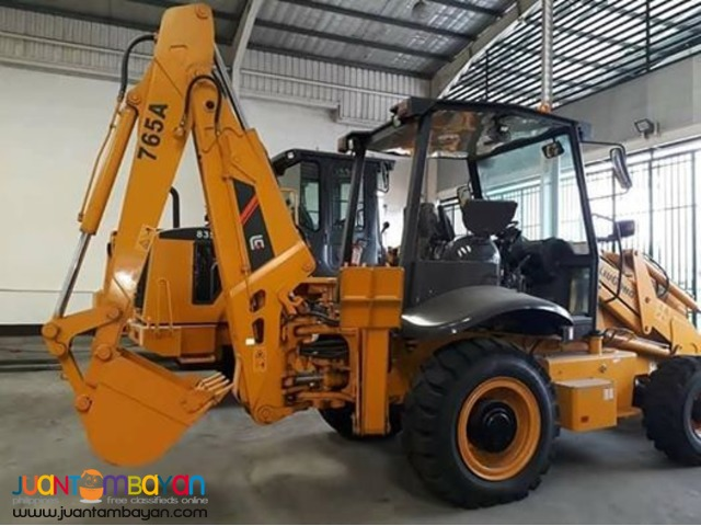 CLG765A BACKHOE LOADER (0.20/1.0 cbm)