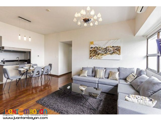 Fully Furnished 3 Bedroom unit at Avalon Condominium Ayala