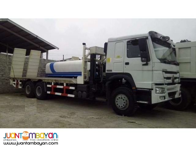 Howo t7 10wheeler Self Loading Truck with 6t winch