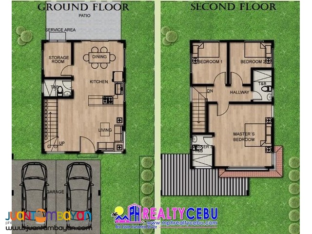 SINGLE DETACHED HOUSE 3 BR  AT PUEBLO SAN RICARDO TALISAY CEBU