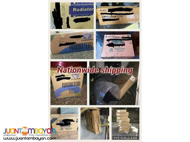 Nissan almera 2013 to 2015 radiator assembly