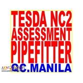 Tesda Nc2 Assessment Pipefitter Tesda Ncii Assessment