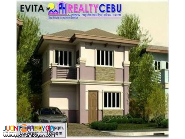 EVITA MODEL- 3BR HOUSE AT PACIFIC GRAND VILLA IN MACTAN CEBU
