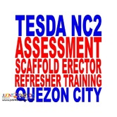 Scaffold Erector Refresher Training Tesda Nc2 Assessment