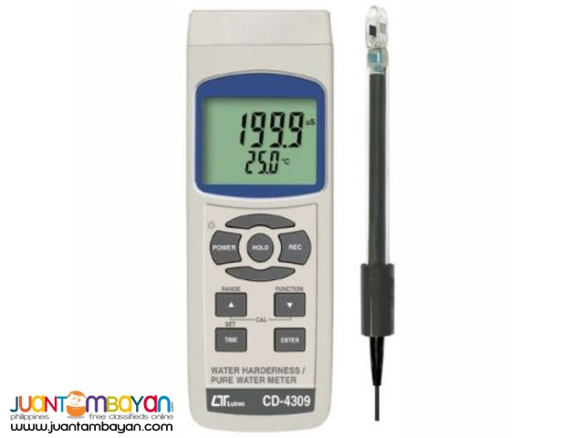 Resistivity Meter with Conductivity TDS Hardness Temperature