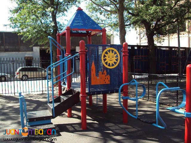 PLAY GROUND AND EQUIPMENT