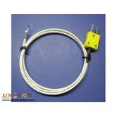Thermocouple Probe, Type -K, High Temperature WIRE Probe