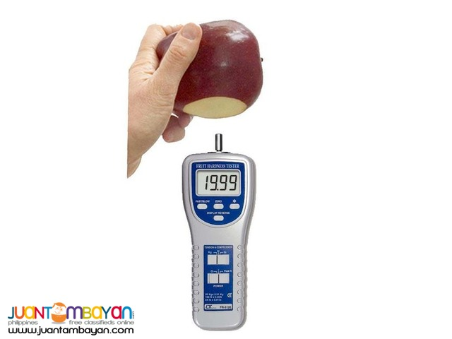 Fruit Hardness Tester, Fruit Penetrometer, Fruit Sclerometer