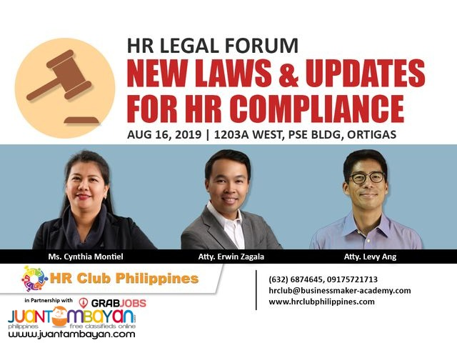 HR Legal Forum | New Laws and Updates for HR Compliance