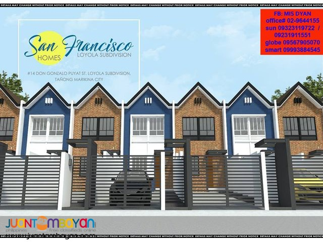House and Lot near Katipunan Quezon City San Francisco Loyola