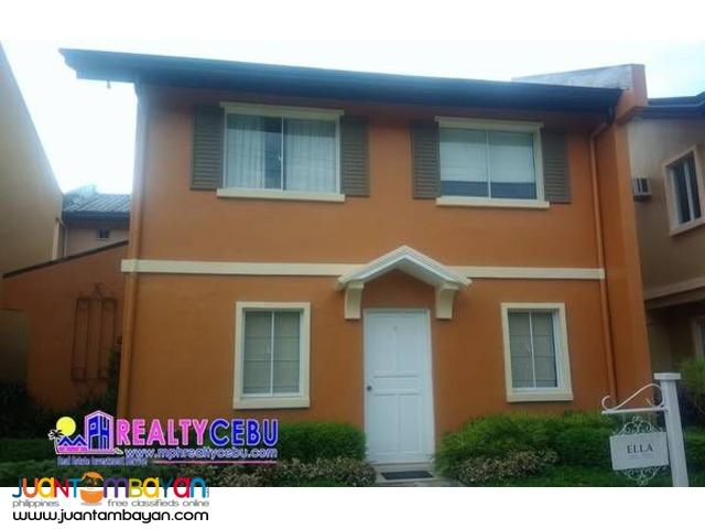 CAMELLA - ELLA MODEL 5 BR HOUSE IN TALAMBAN CEBU CITY