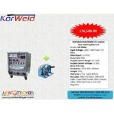 Korweld MIG 350M DC Inverter Type Welding Machine 220V,440V