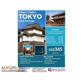 3D2N Tokyo Free & Easy Land Package