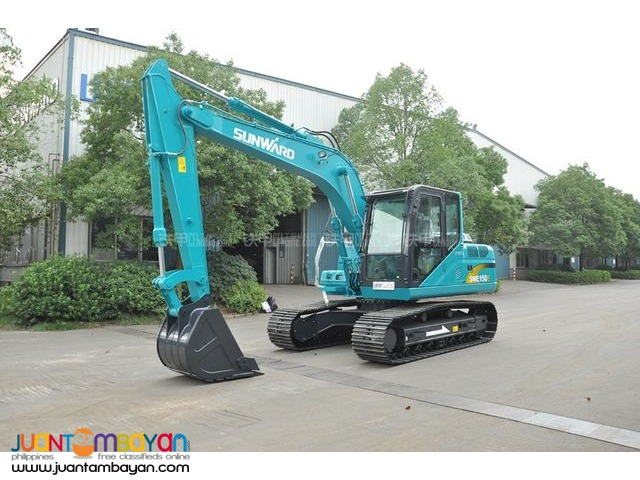 SUNWARD SWE150E CHAIN TYPE BACKHOE .6 CBM