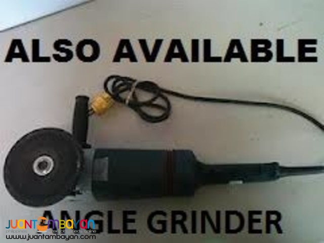 Electric Jackhammer & Other Construction Equipment FOR RENT