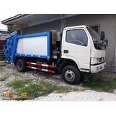 Brandnew Dongfeng Garbage Compactor 5cubic 6Wheeler