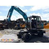 Brandnew Jinggong Wheel type Hydraulic Excavator 0.30cubic