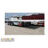 40ft High Bed Trailer Tri-Axle 50Tons