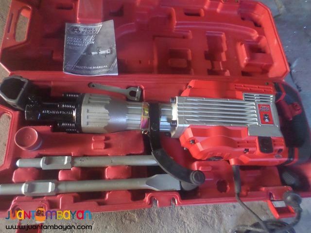 jackhammer fullboar demolition breaker1600wats 220v brandnew
