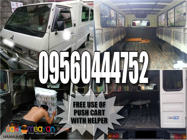L300 FB Van For Rent, Available for types of services.