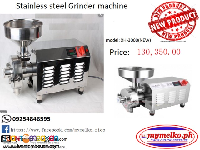 STAINLESS STEEL GRINDER MACHINE MODEL:XH-3000