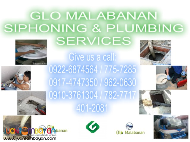 PCC plumbing & siphoning services