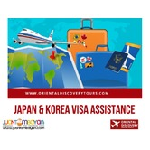 Japan and Korea Visa Assistance and Processing