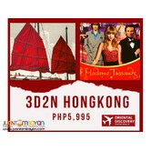 PROMO 3D2N EXPLORE HONGKONG WITH FREE CITY TOUR