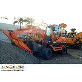 YAMA 75W8T WHEEL-TYPE BACKHOE EXCAVATOR