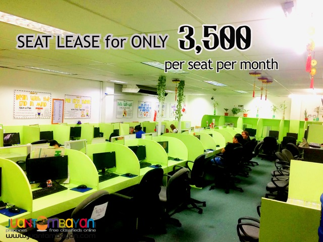 Cebu City Call center Office Space for RENT 35 Seats