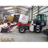 SELF FEEDING CONCRETE MIXER