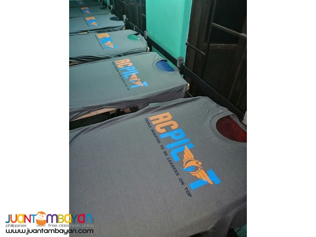 Rush quality tshirt printing