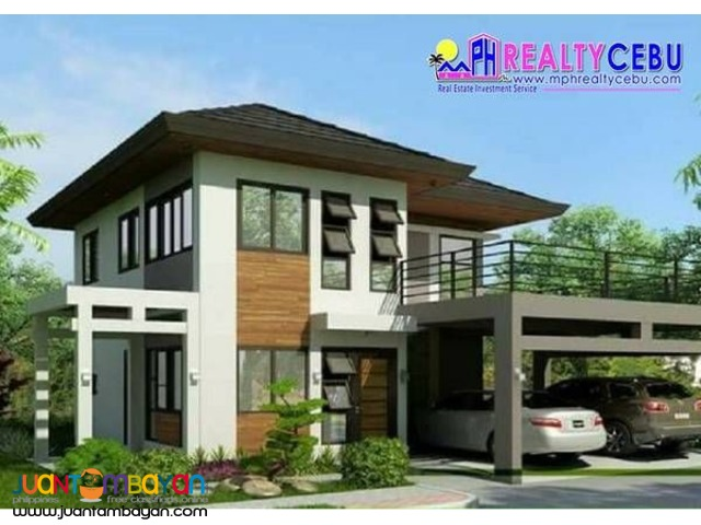 2STOREY 5BR HOUSE FOR SALE IN BRITTA NORTH COMPOSTELA CEBU
