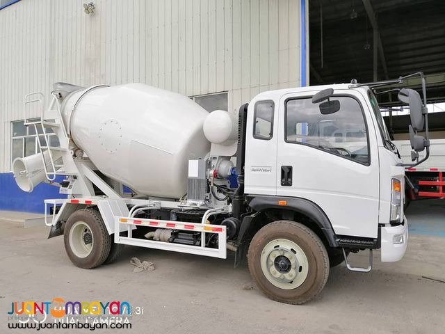 6-WHEELER CONCRETE MIXER 4CBM