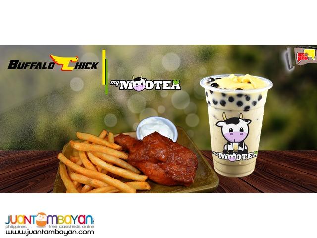 Food Cart Franchise Emotea Milk Tea Fruit Tea Iced Coffee