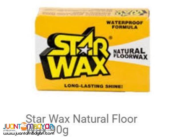 Star Wax Natural Floor 90g Quezon