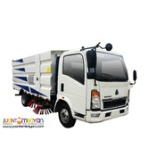 VERY EFFICIENT AND AFFORDABLE 4CBM EURO II STREET SWEEPER TRUCK
