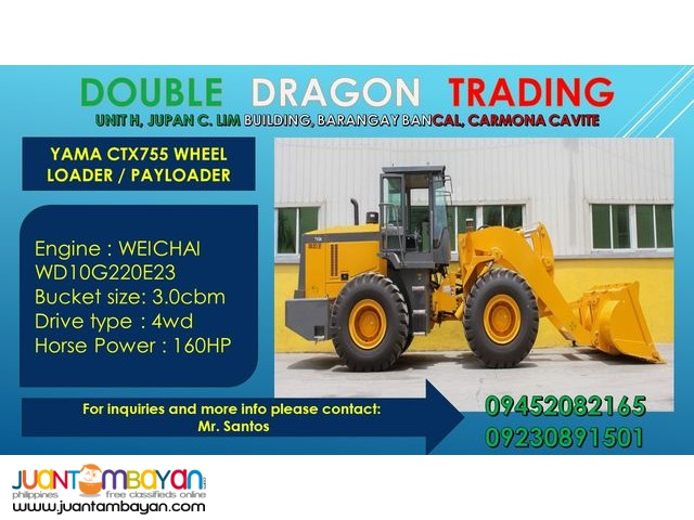Yama 755 Payloader / Wheel Loader