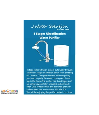 JW Solutions 4-Stage Ultrafiltration Purifier System