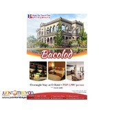 2D1N Bacolod Package