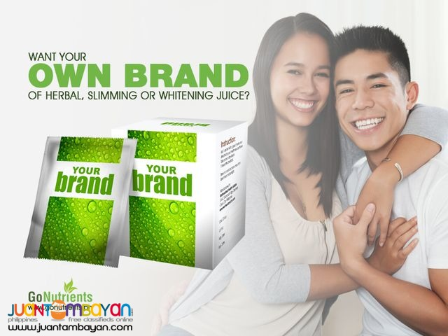 Own brand of juice