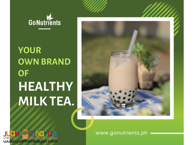 Own brand of Milktea