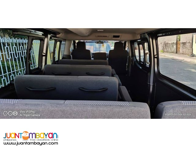 Rent A Van NV350 15 Seater Van Tours